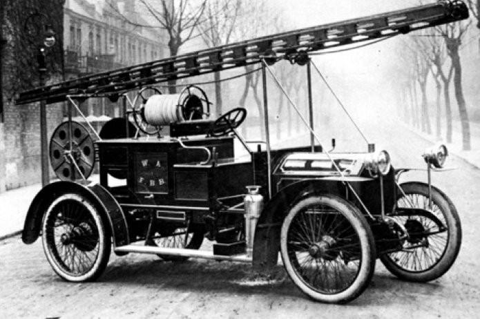 West Australian Fire Brigade Appliance 1913