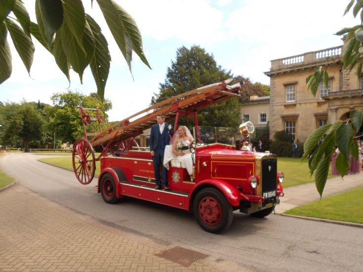 Gainsborough Firefighter Wedding