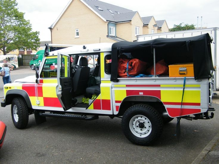 Animal Rescue Land Rover Surrey