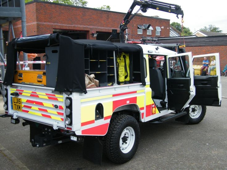 Painshill Land Rover Animal rescue