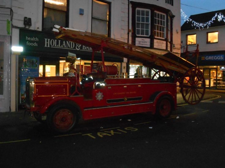 LOUTH VINTAGE FIRE ENGINE 'BETSY'