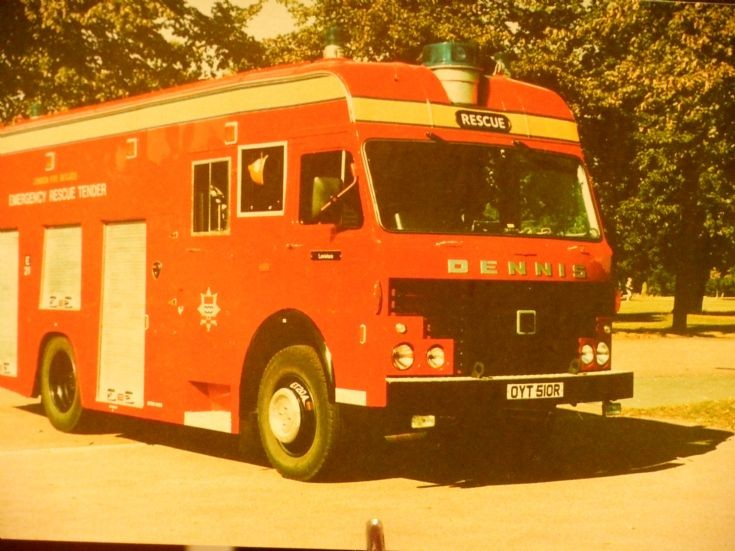 Dennis Emergency Rescue Tender