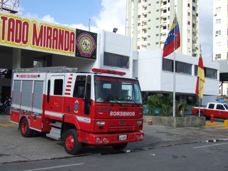 Bomberos del estado Miranda