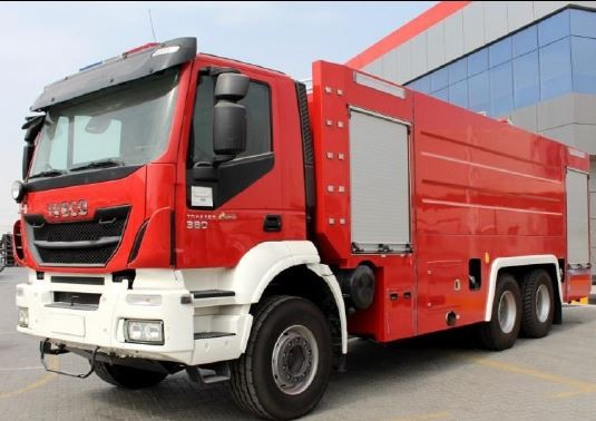 FIRE FIGHTING VEHICLE ON IVECO TRAKKER - 6X4
