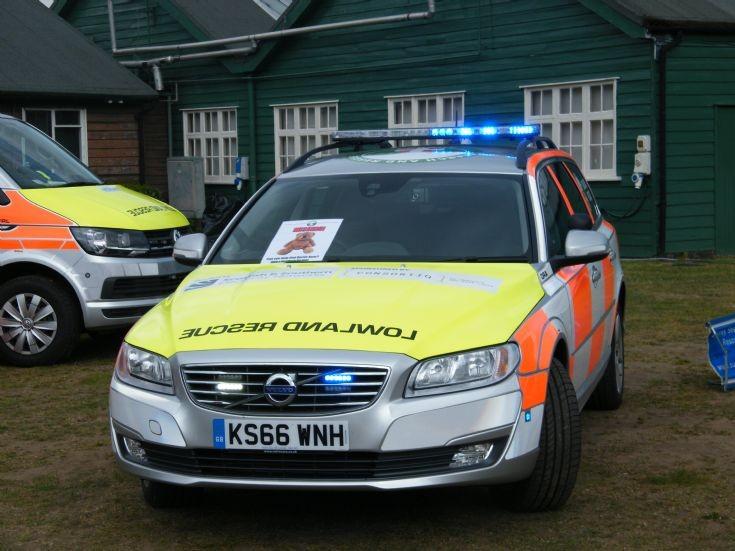 Surrey Search and Rescue Volvo