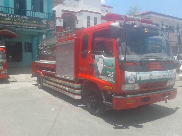 Subic Fire Engine/Tanker 1 - Isuzu NHR Elf