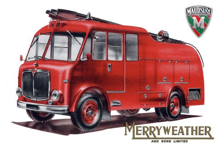 maudsley merryweather advertisement 1955