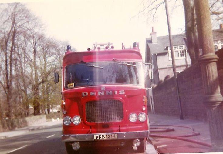 Dennis F44 Foam Pump Liverpool WKB131H