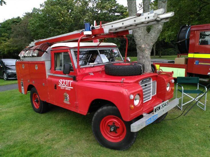 Land rover series 3 1978 HCB Angus