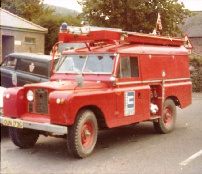 Land Rover L4P OUN 173G Clwyd