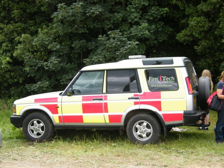 Land Rover Discovery. Goodwood Fire Cover