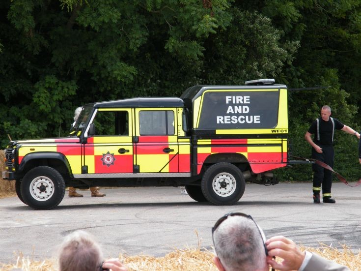 Land Rover Goodwood FOS Fire Cover