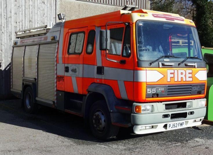 DAF 55 230ti  / TVAC  PJ52FMP Ex Lancashire Fire