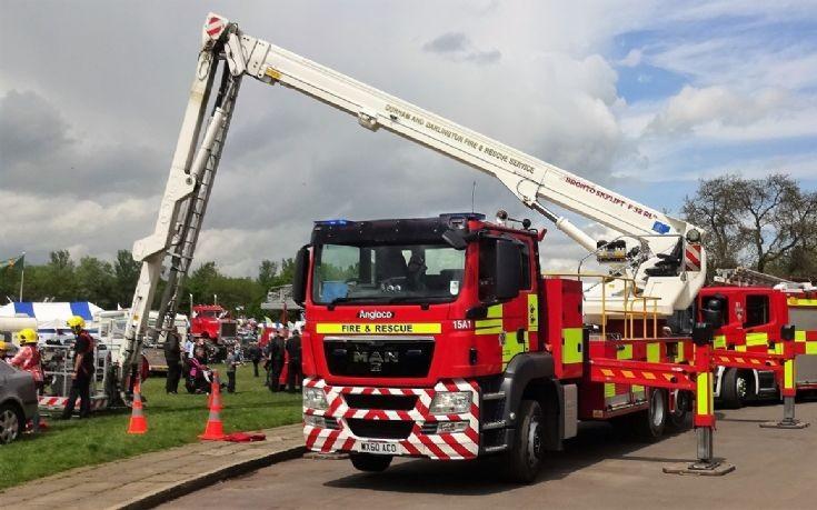MAN Angloco  ALP  WX60ACO  Durham  Darlington Fire