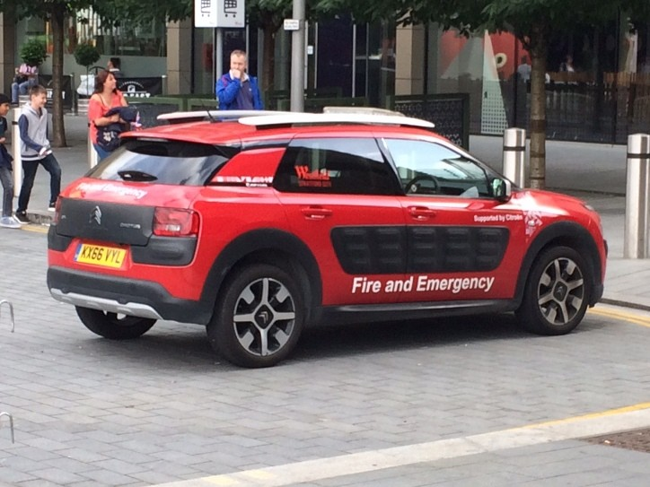 Citroen Westfield fire and security KX66VYL