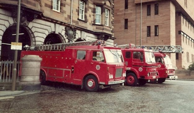 Lauriston Place Edinburgh early 1980s