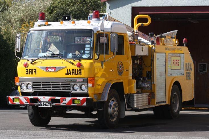New Zealand Hino - MM8567