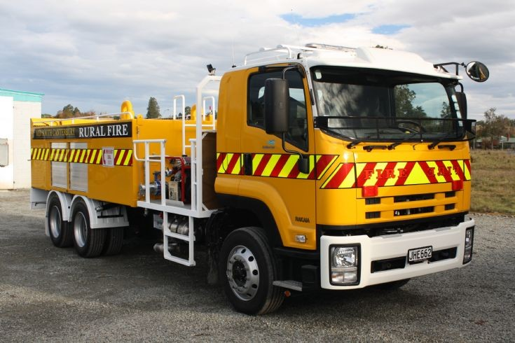 New Zealand Isuzu - JHE662