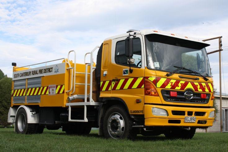 New Zealand Hino - BGJ894