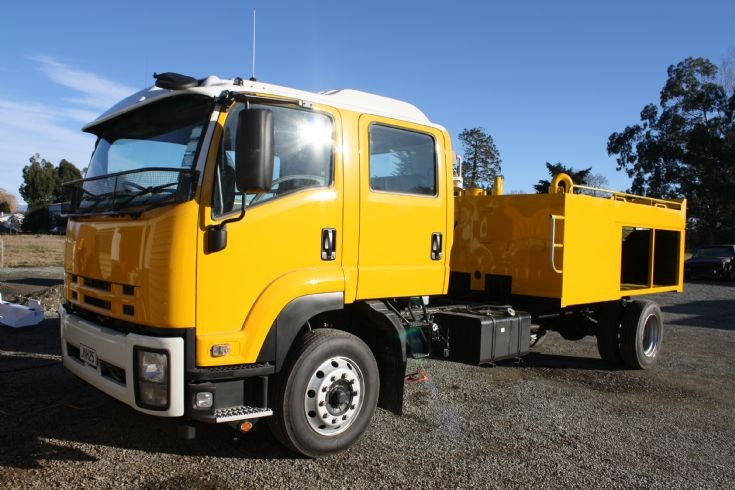 New Zealand Isuzu - JNH25