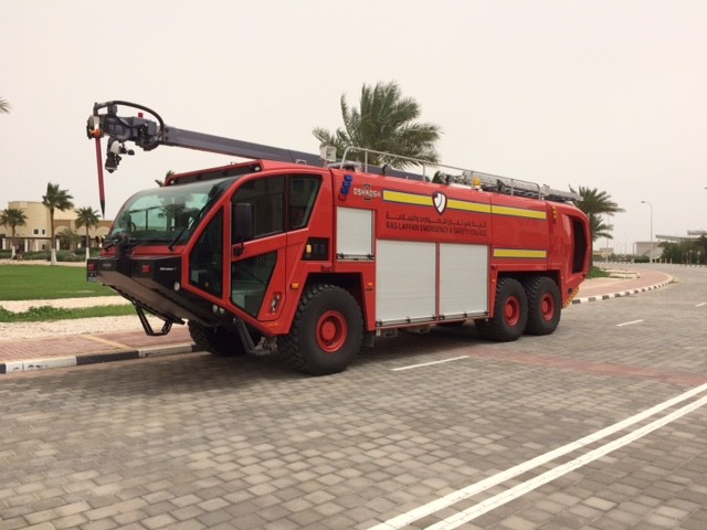 Oshkosh Striker Airport appliance Qatar