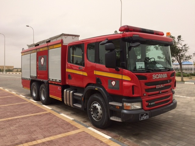 Scania/BAI Foam Tender Qatar