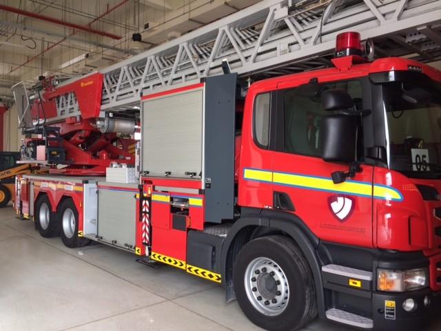 Rosenbauer/Scania TL Qatar