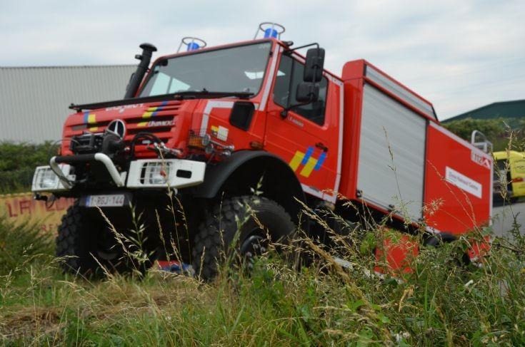 Unimog Fire brigade Mons