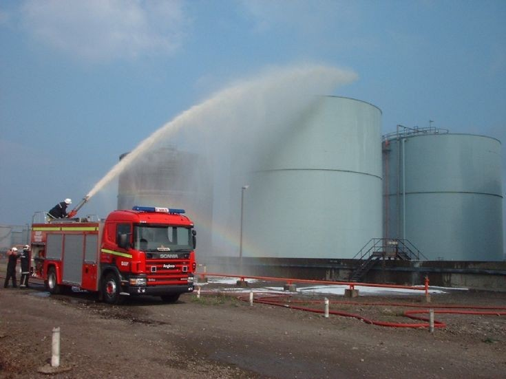 Scania Foam Tender at BASF Seal Sands