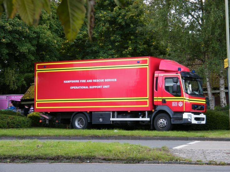 Volvo Operational Support Unit Hampshire