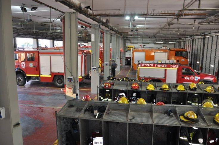 Fire station in Petah Tikva, Israel