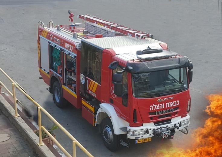 A new fire truck