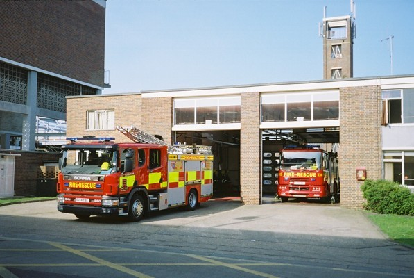 Scania/JDC RP Essex FRS Loughton