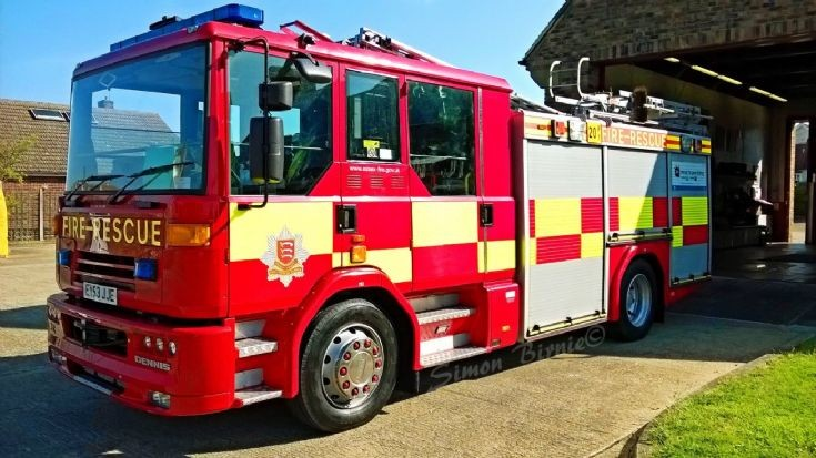 E20 Brightlingsea Rescue Pump, Essex.