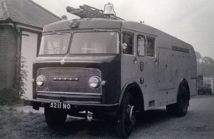Dodge Appliance, Essex Fire Brigade.