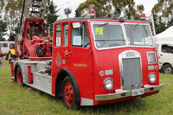 retired Dennis ladder truck