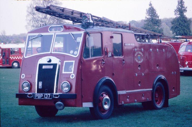 1953 Dennis F8 PBP 137 Basingstoke