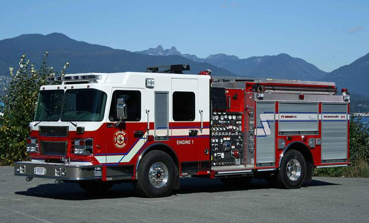 Vancouver new Engine 1