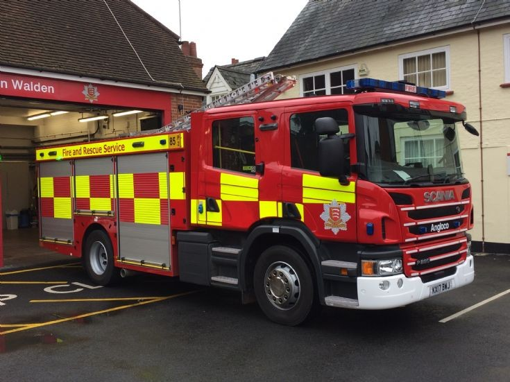 Essex Fire Recsue Scania - W85 Saffron Walden