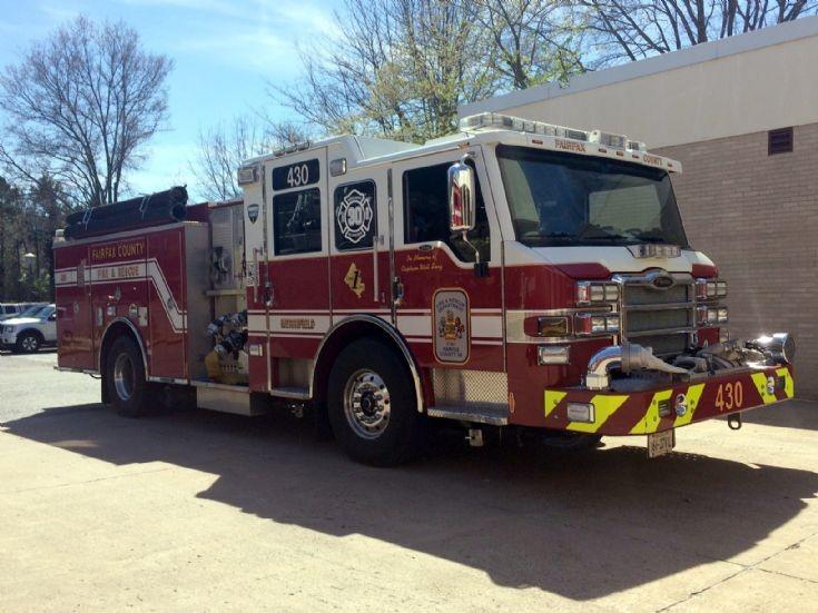 Fairfax County Fire & Rescue Dept. Virginia