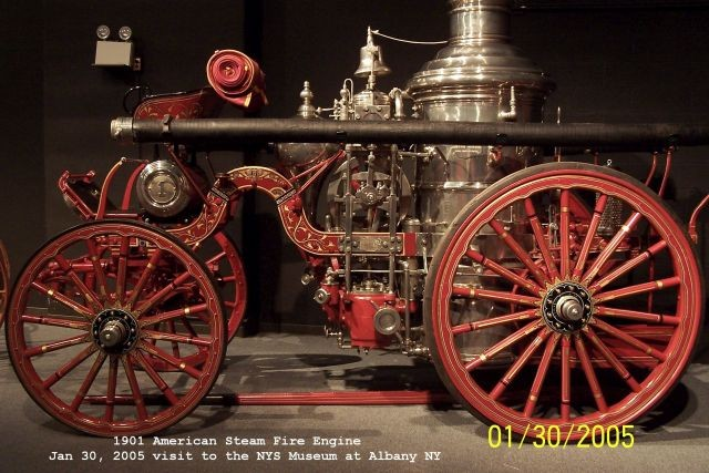 1901 American Steam Fire Engine