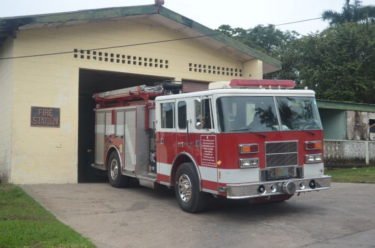 Belize Fire Service Pierce