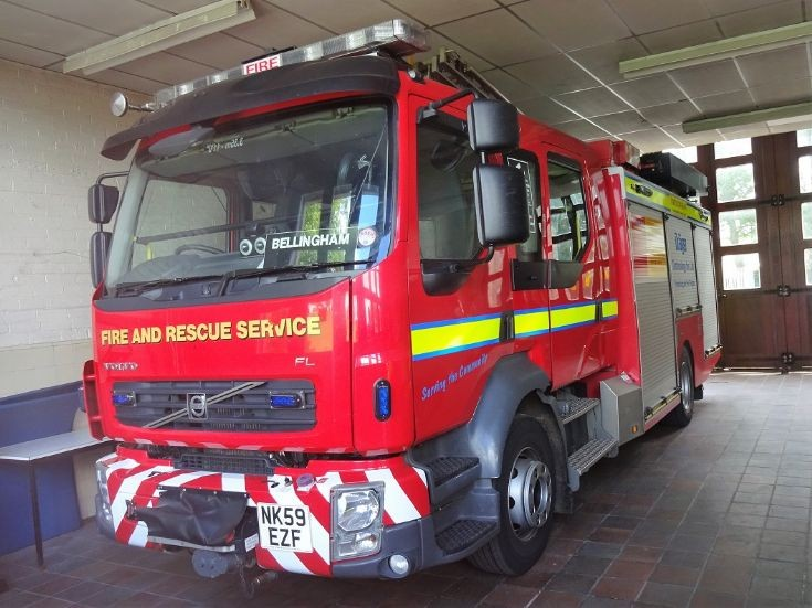 Volvo FL6 NK59EZF Northumberland Fire RS