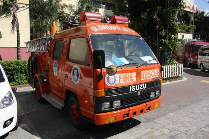 Olongapo Fire Rescue Elf Truck