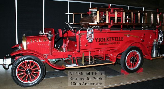 1917 Ford Model T Violetville, Maryland VFD