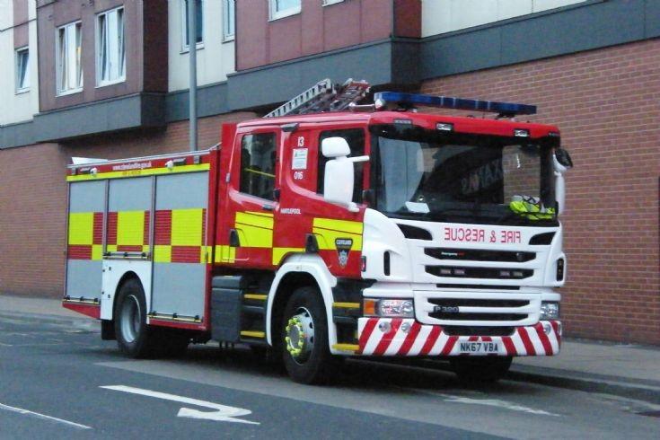 Cleveland Fire Brigade NK67VBA (016/I3)