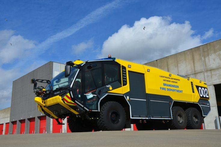 Crashtruck Antwerpen