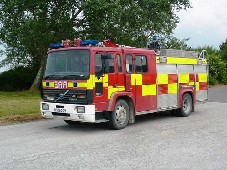 Volvo FL614 Excalibur CBK Angloco ex Suffolk