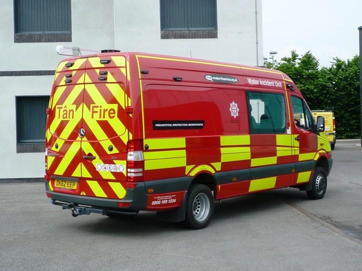 Mercedes Sprinter/ MacNeIllie DK62EEP Water Rescue