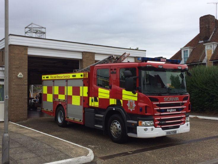ECFRS - Stn. 43 Burnham-on-Crouch  Rescue Pump